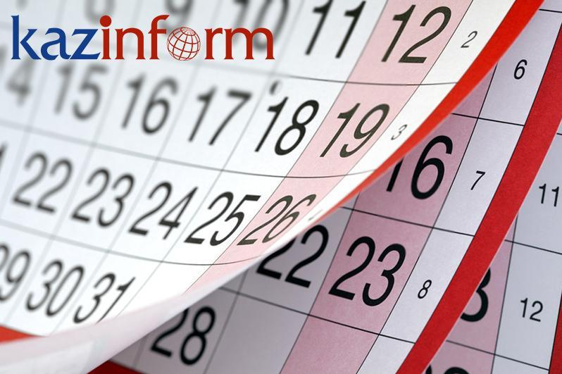 January 19. Kazinform's timeline of major events