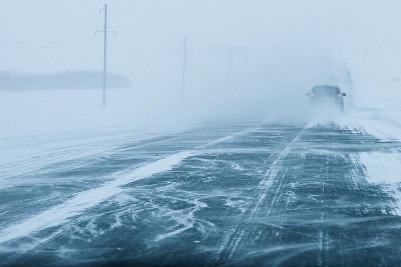 Трассу Нур-Султан-Павлодар закрыли из-за метели