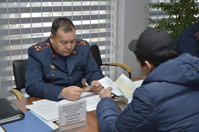 Во фронт-офисы в Туркестанской области обратились свыше 80 владельцев авто с иностранными номерами
