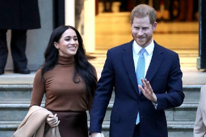 British royal family allows Harry, Meghan to step back from royal duties