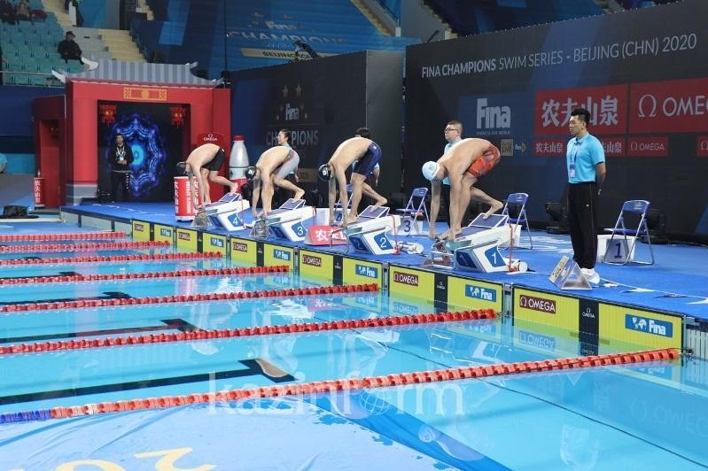 Баландин стал четверым на втором этапе турнира Champions Swim Series в Пекине