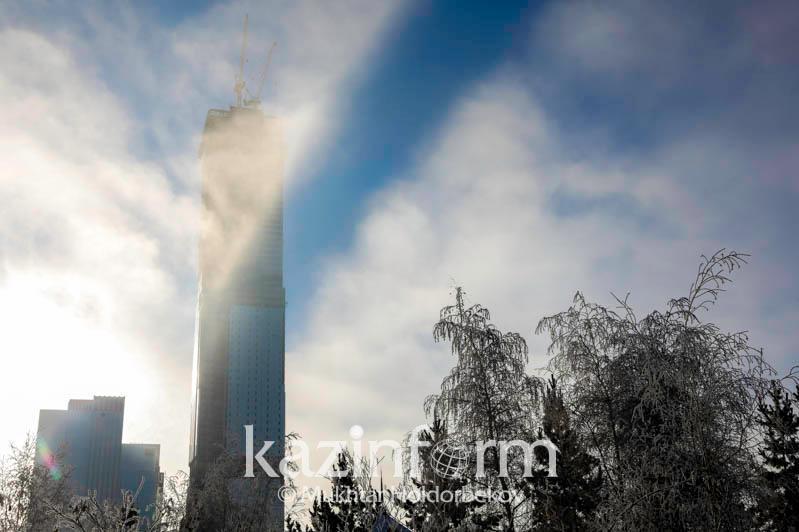 В Нур-Султане в понедельник ожидается туман