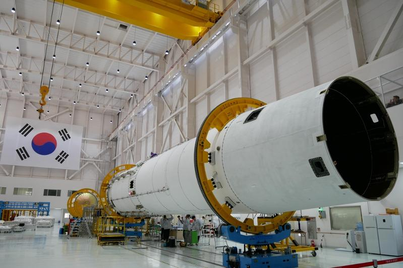S. Korea's first locally built space rocket on track for launch in 2021