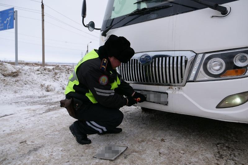 С техническими нарушениями выходили на рейсы автобусы в СКО