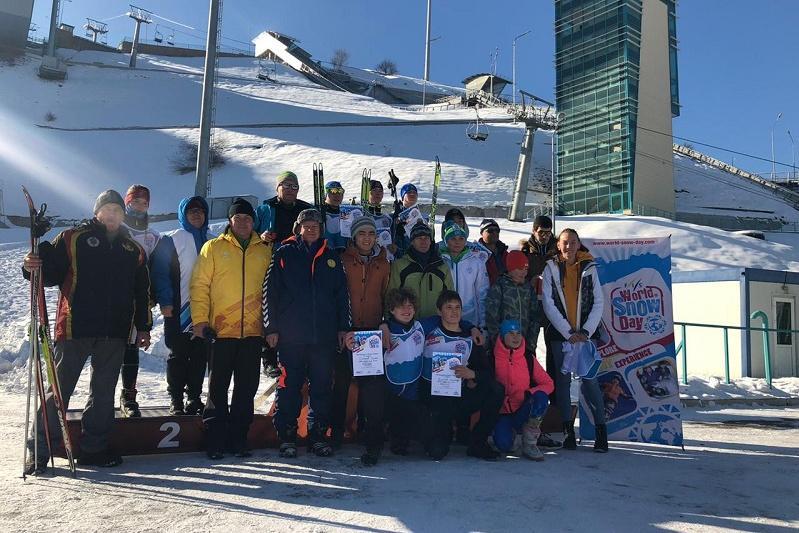 В Казахстане состоялось празднование Всемирного дня снега