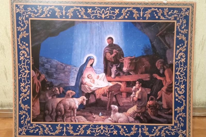 Житель ВКО украл картину из церкви