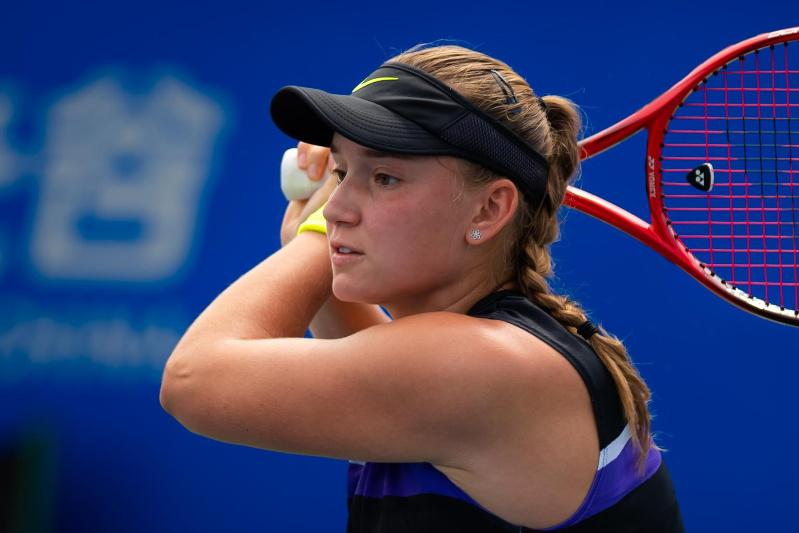 Kazakhstan's Elena Rybakina one step away from WTA Top 25