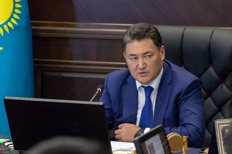 Bulat Bakauov relieved of his duties