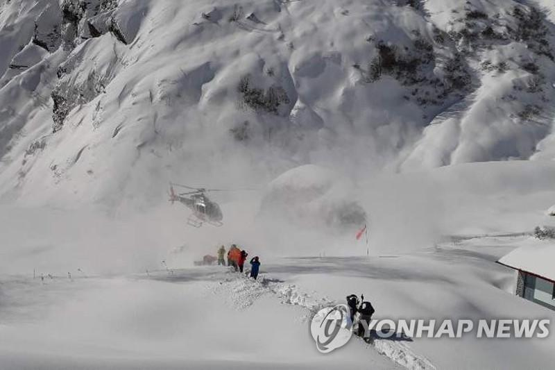 Search for 4 S. Koreans missing in Himalayas suspended due to bad weather