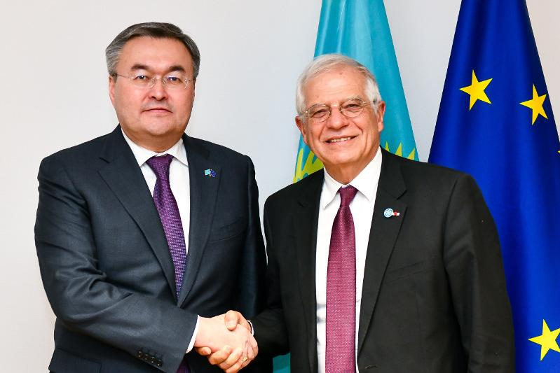 Kazakhstan and EU pledge to expand cooperation