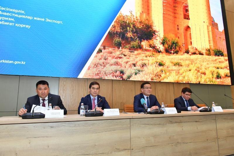 500 млрд тенге составил объем производства в Туркестанской области в прошлом году