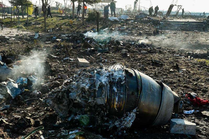 Иран: Украинский самолет сбили двумя ракетами ближнего радиуса действия