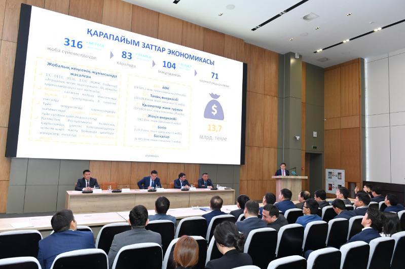 Почти 142 тысячи предприятий МСБ насчитывается в Туркестанской области