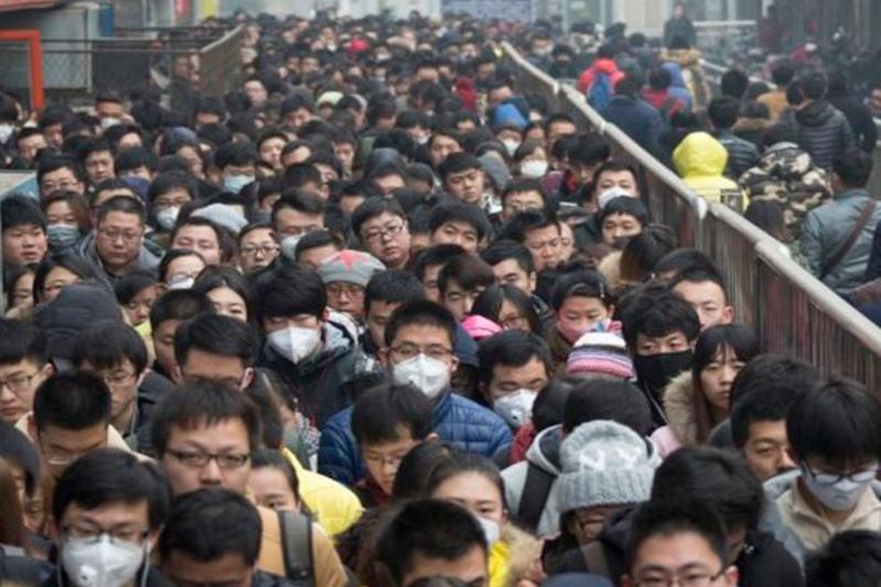 Қытайда жаңа коронавирус жұқтырғандар саны күрт артты