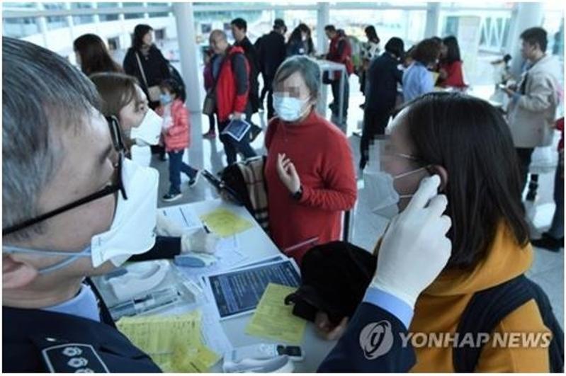 S. Korea on high alert amid possible human-to-human spread of new coronavirus