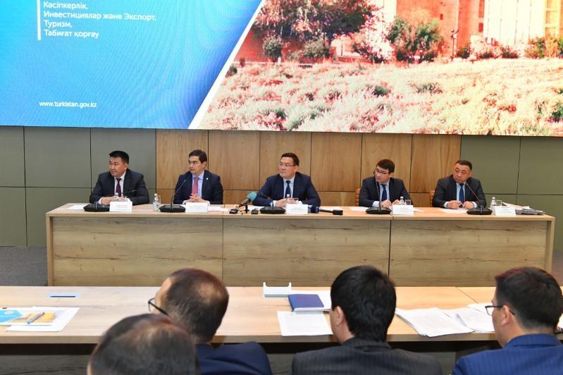 Túrkistan oblysynda 736 joba qarjylandyryldy