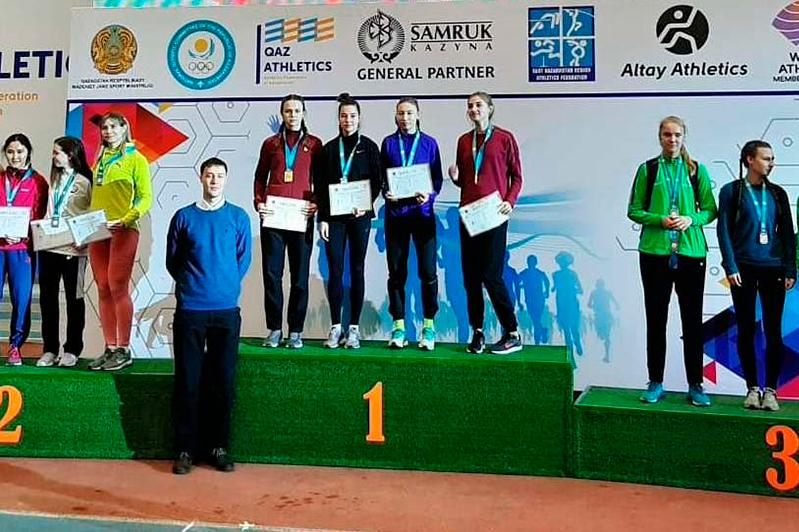 Акмолинская команда стала чемпионом Казахстана по легкой атлетике