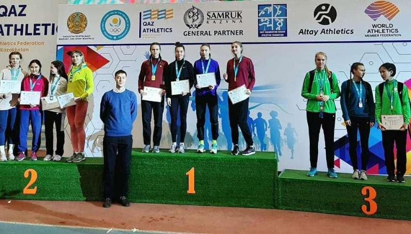 Жеңіл атлетика: Ақмоланың әйелдер құрама командасы ел чемпионы атанды