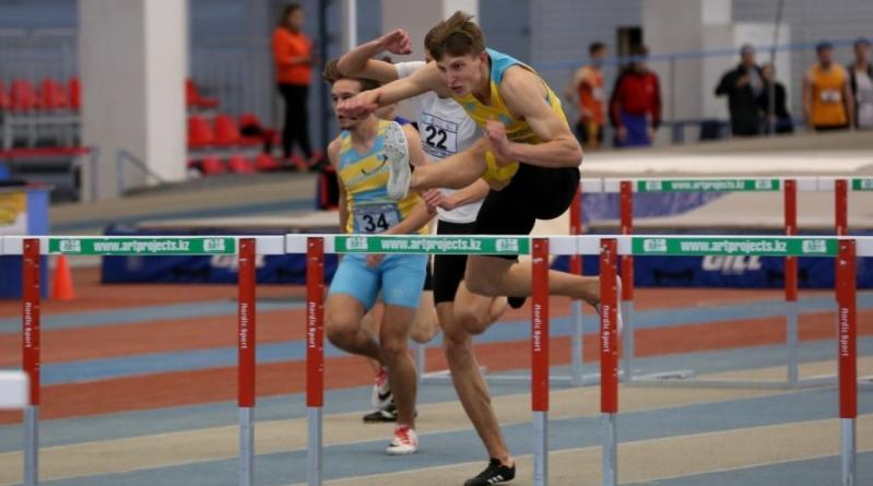 Новый рекорд РК в беге на 60 метров с барьерами установил Давид Ефремов