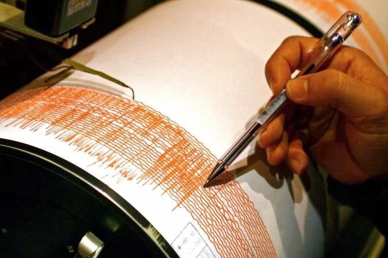 阿拉木图市东南方向380公里处发生地震