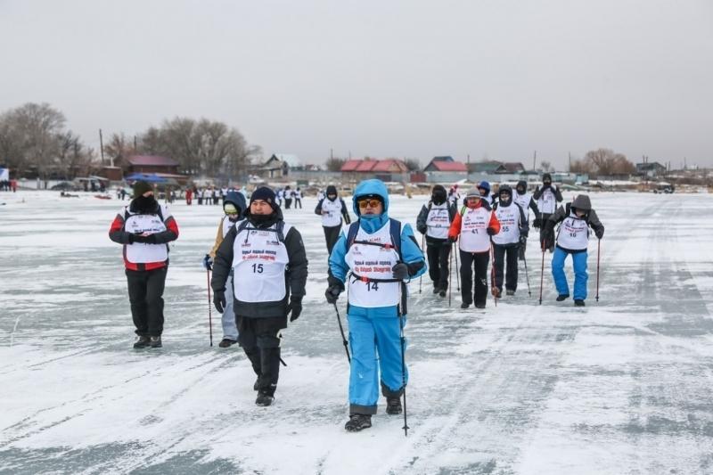 第二届冬季徒步穿越巴尔喀什湖比赛将于2月举行