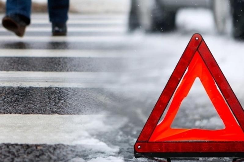Женщину сбили на пешеходном переходе в Павлодаре