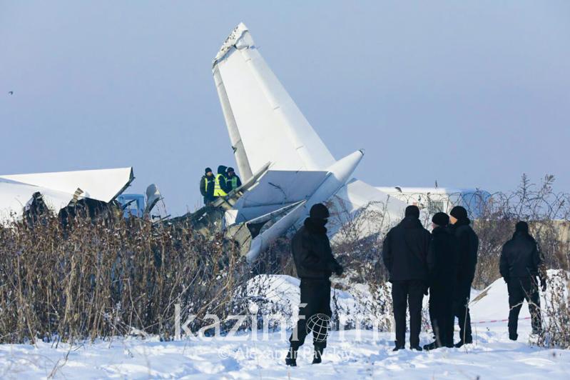 О ходе следствия по крушению самолета Bek Air рассказал замгенпрокурора РК