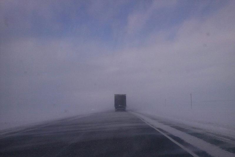 Временно закрыт ряд дорог республиканского значения в Акмолинской области