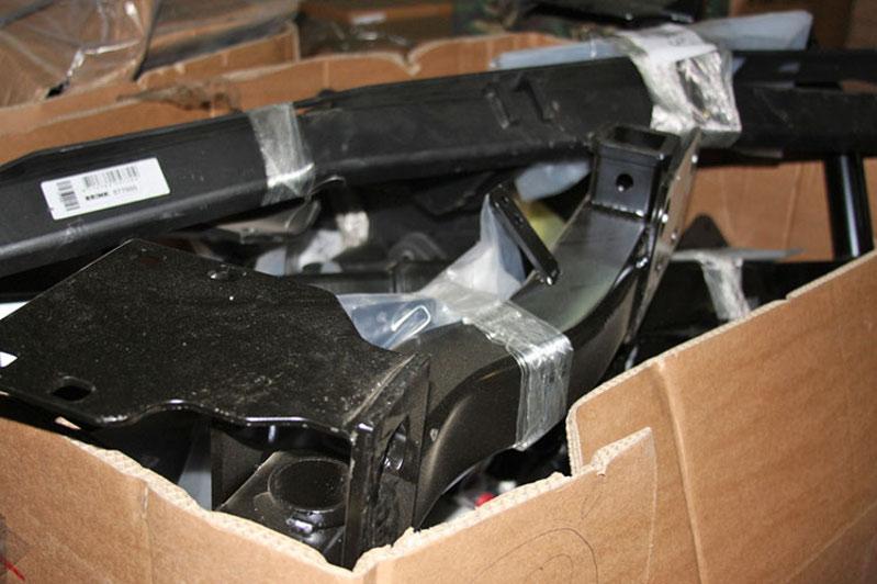 Контрабандные автозапчасти на 198 млн тенге пытались ввезти в Казахстан