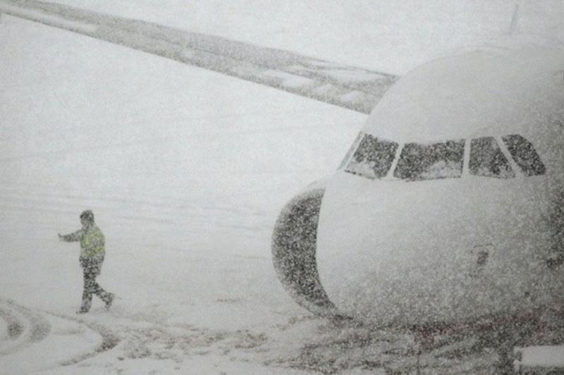 32 рейса задерживают в столичном аэропорту