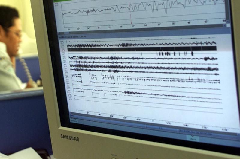 Землетрясение произошло в466 км отАлматы