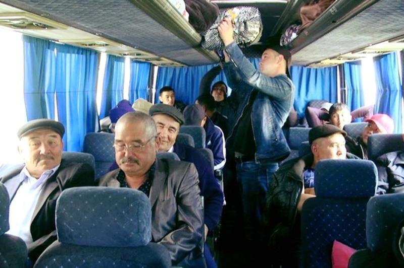 Túrkistan oblysynan 560 otbasy soltústik óńirlerine qonys aýdarǵan
