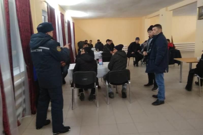 172 человека спасли из снежных заносов в Актюбинской области