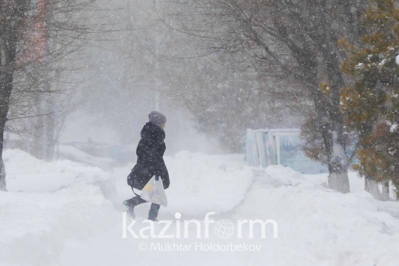 No reason to panic: Nur-Sultan mayor on snowstorm in Kazakh capital