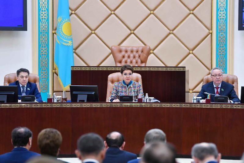 Дарига Назарбаева: Сенаторы будут работать над повышением гарантий защиты прав граждан