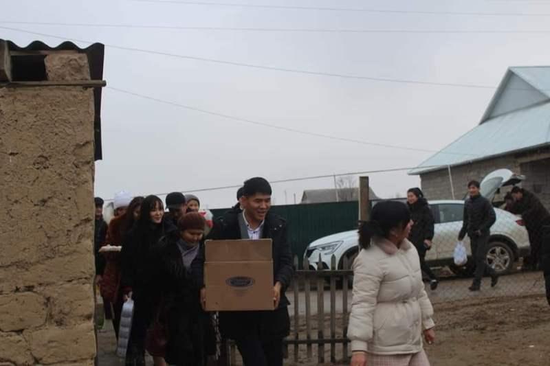 Проект «Қамқорлық» стартовал в Туркестанской области