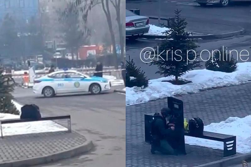 Алматыда CarCity автокөлік базарындағы адамдар эвакуацияланды