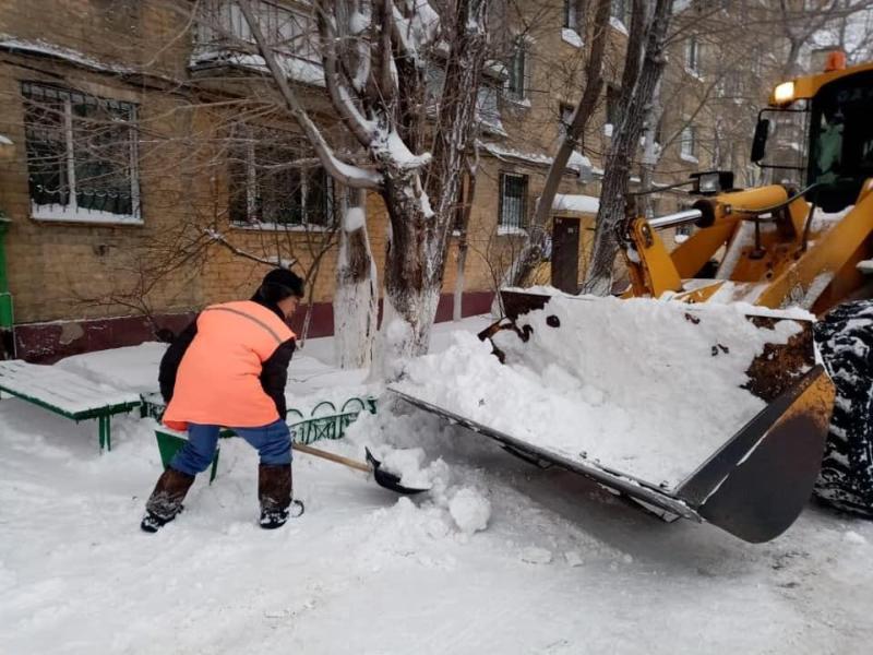 В Нур-Султане штрафы за несвоевременную уборку снега составили почти 5 млн тенге