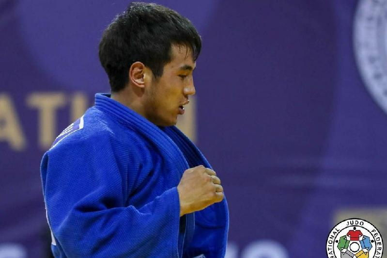 Kazakh judoka pockets silver at World Grand Prix in Israel
