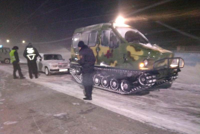 111 человек спасены на дорогах Карагандинской области