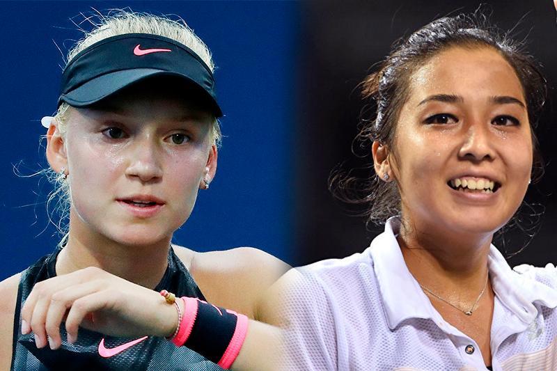 Теннис: Зарина Дияс пен Елена Рыбакина жұппен екінші айналымға шықты