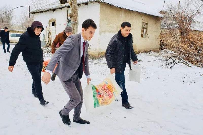Проект «Қамқорлық» набирает обороты в Туркестанской области
