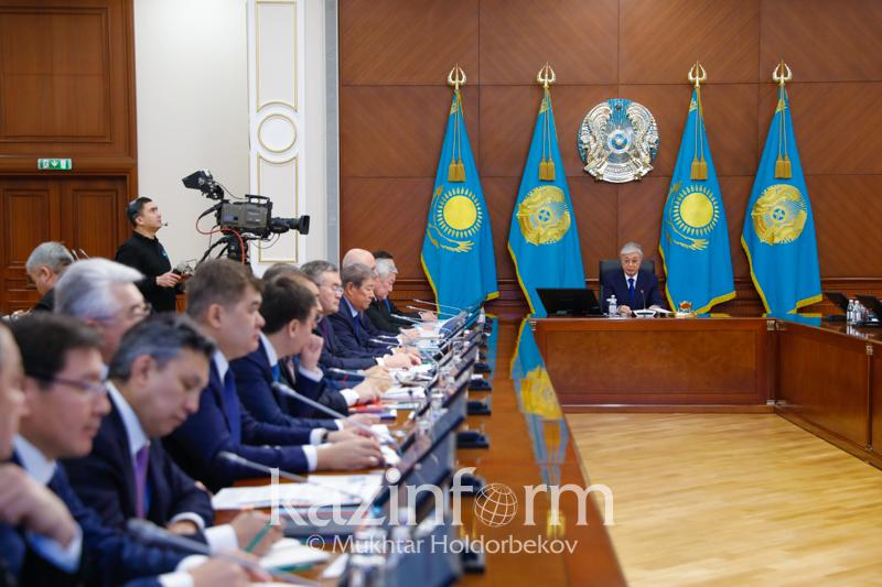Tokayev criticizes national holdings for being overstaffed