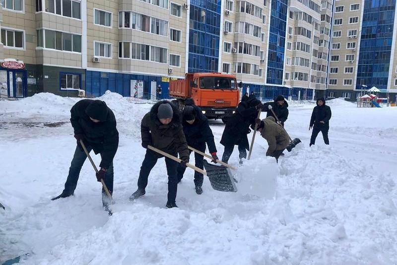 #БізБіргеміз: акимат столичного района «Алматы» поддержал челлендж