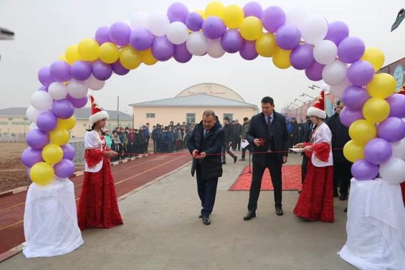 Түркістан облысында «Шардара Армспорт» клубының жаттығу алаңшалары ашылды