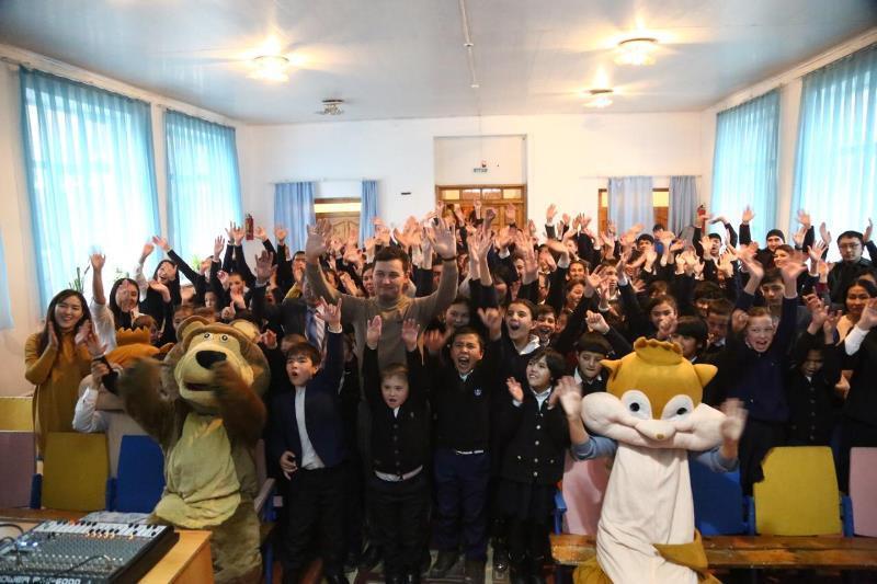 Молодежь Туркестана поддержала челлендж «Мы вместе»