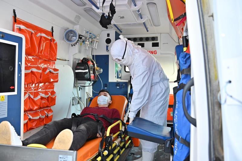 Готовность спецслужб на случай коронавируса проверили в аэропорту Актобе