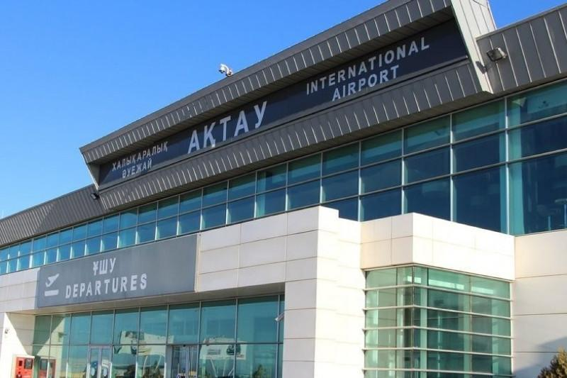 Пассажиров в аэропорту Актау проверяют тепловизором