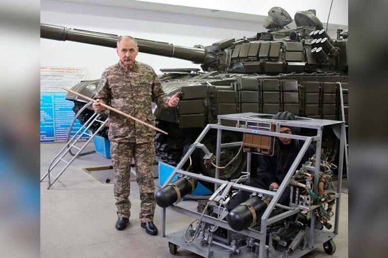 Қарағанды университетінің әскери кафедрасында танк тренажері іске қосылды
