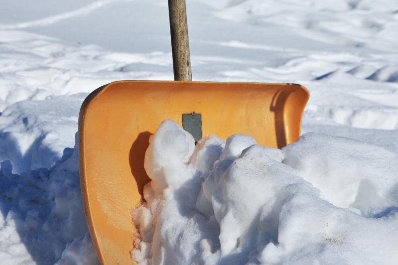 Павлодарские госслужащие очистят от снега двор дома ветеранов